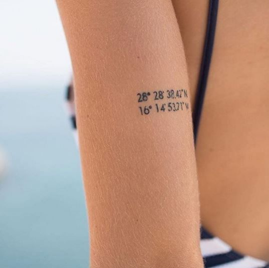 Tinytattoo Minimalistyczne Tatuaże Fot At Littletattoolove