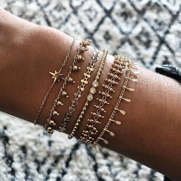 Gold | Schmuck | Zubehör | Armbänder | Inspiration | Mehr zu Fashionchick – Pinterest Blog