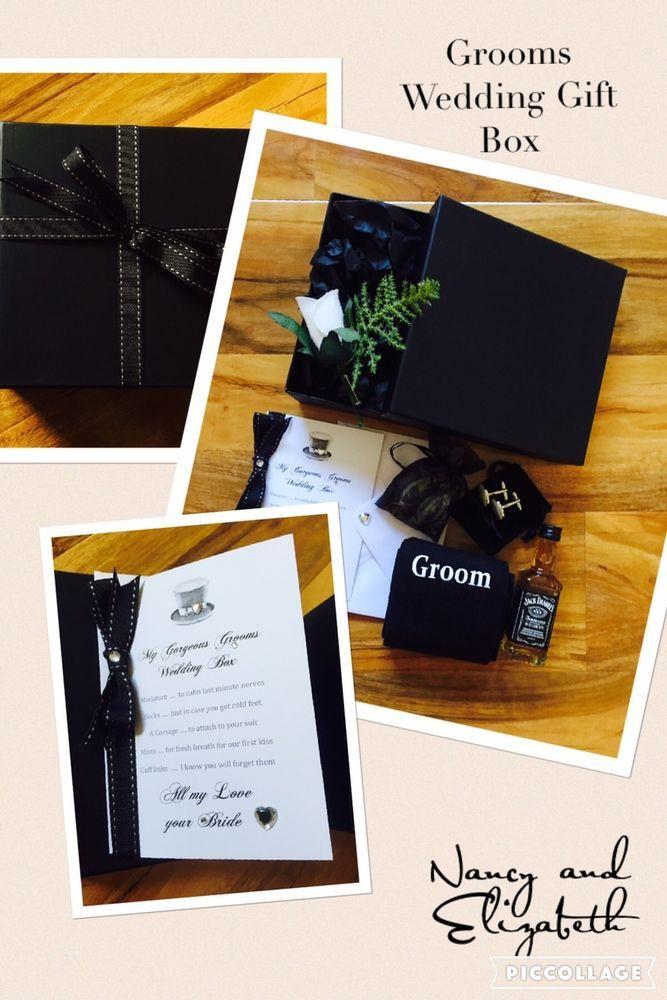 Personalised Luxury Gift Set Husband To Be Wedding Day Gift Set