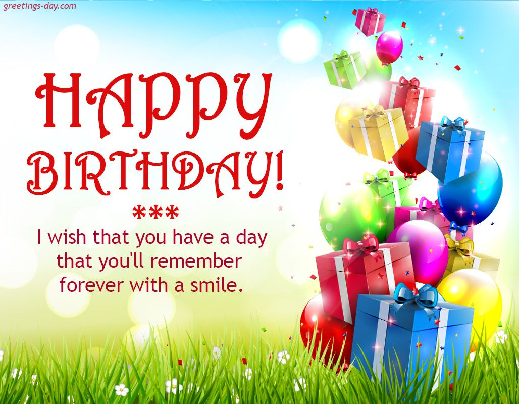 Happy Birthday - http://greetings-day.com/happy-birthday-2.html