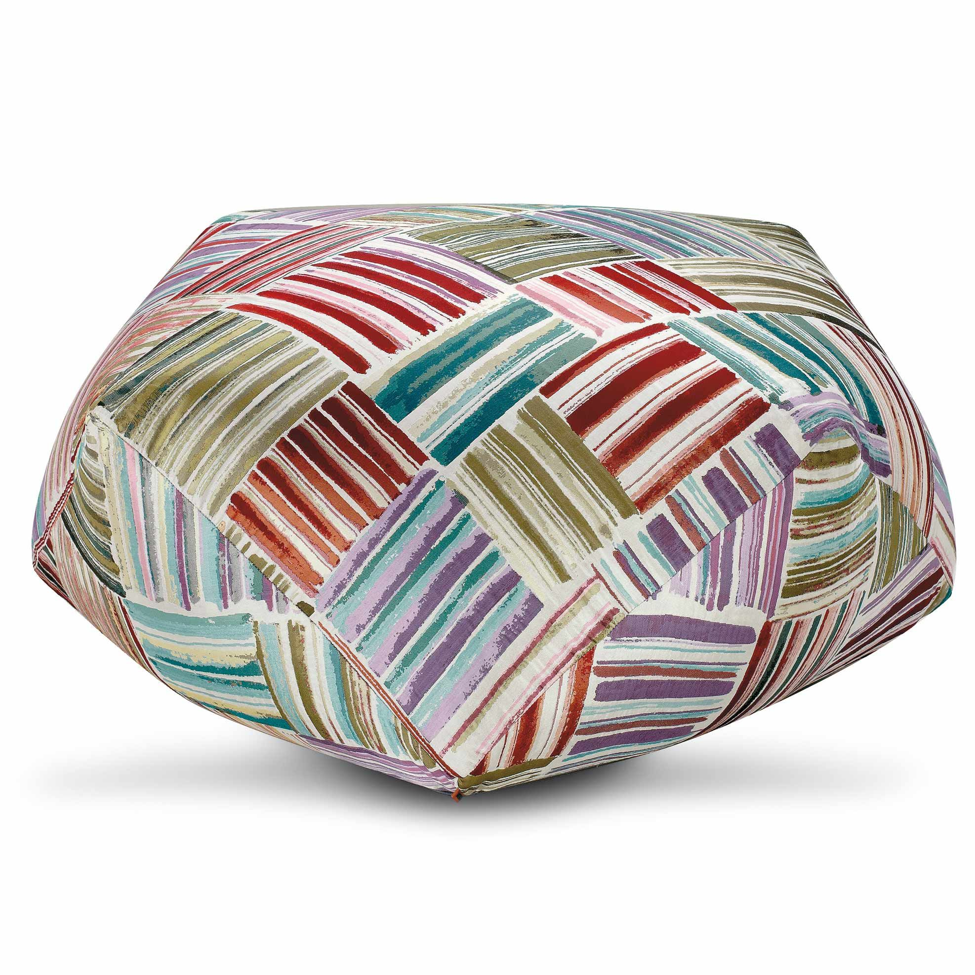 farbenfroh pouf palinque von missoni home ist nicht nur. Black Bedroom Furniture Sets. Home Design Ideas