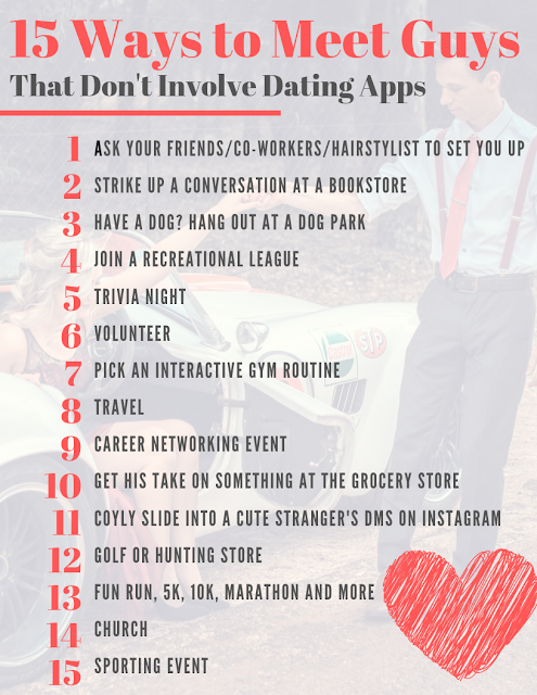 15 Ways to Meet Guys That Don't Involve Dating Apps Meet