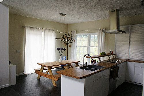Indoor Picnic Table: Dining Area Trend