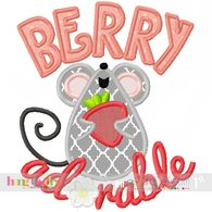 Berry Adorable with Mouse