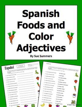 Adjectives Colors Worksheet Adjective worksheet