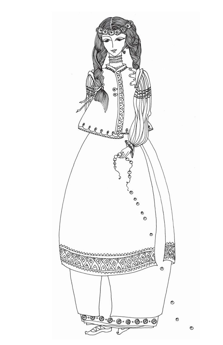 Ukrainian Coloring Coloring Books Book Drawing Coloring Pages
