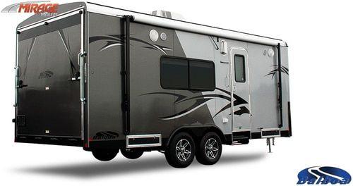 Mirage Trailers, LLC. Mirage Balboa 8-1/2' X 20' 10K Front ...