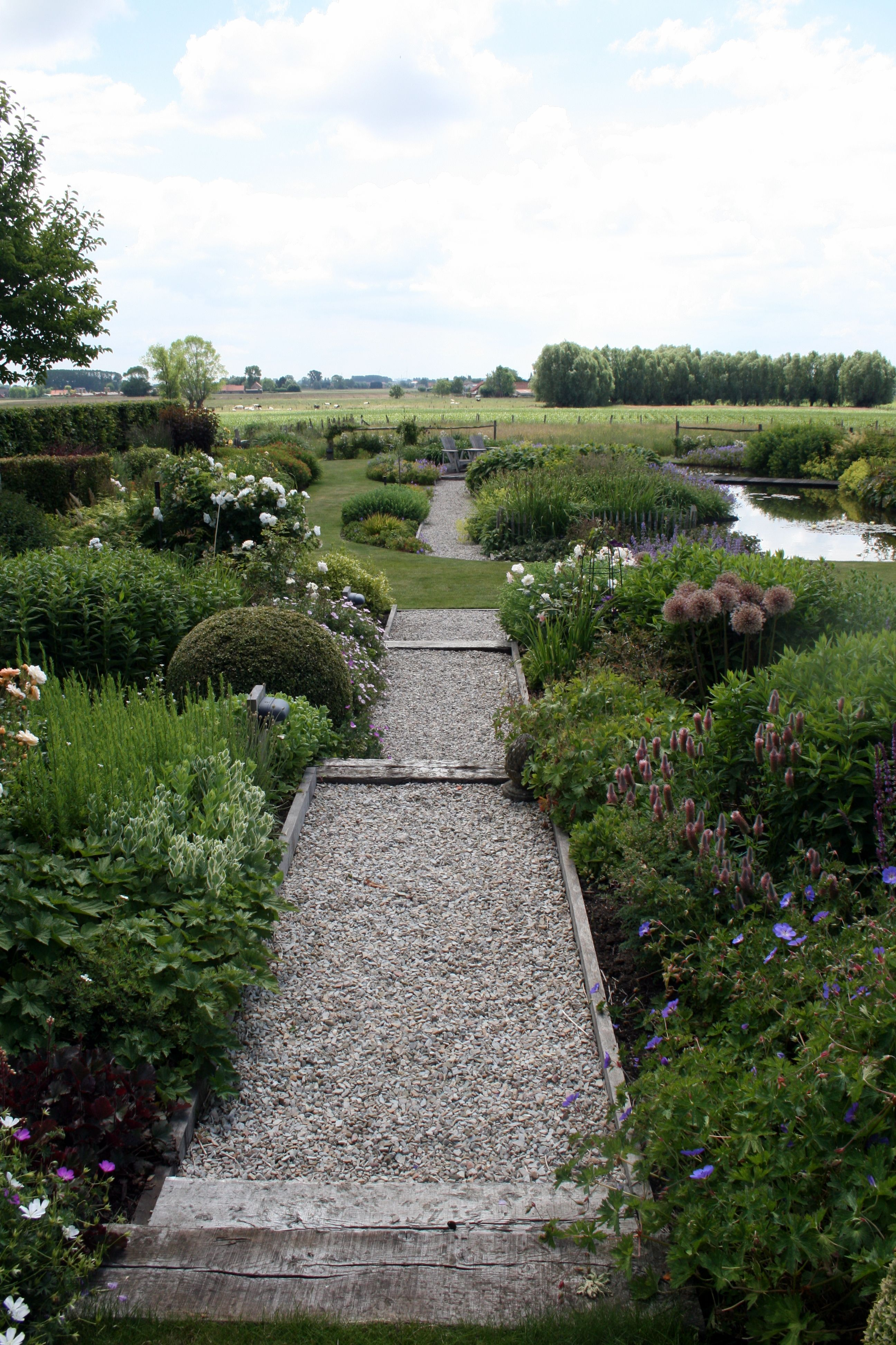 staudenbeet & kiesweg / gartenreise belgien / holland (gb) | tuinen