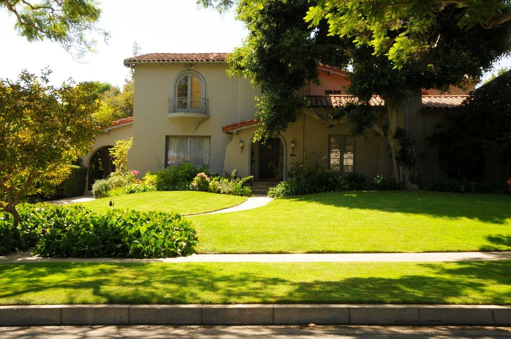 North Alta Drive Oliver Hardy S House In Beverly Hills Celebrity Houses Hollywood Homes Facade House