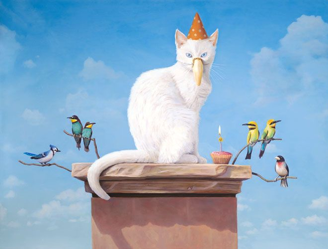 25 Beautiful And Surreal Oil Paintings By Paul David Bond So