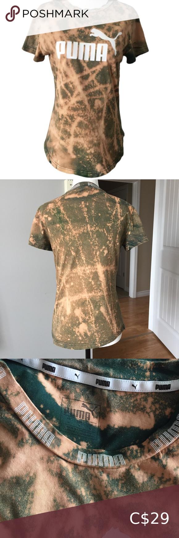Puma Tie Dye T Shirt