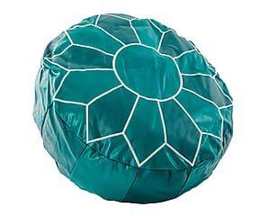 Cuscino pouf in poliestere Arabesco Etnico - 50x16x50 cm