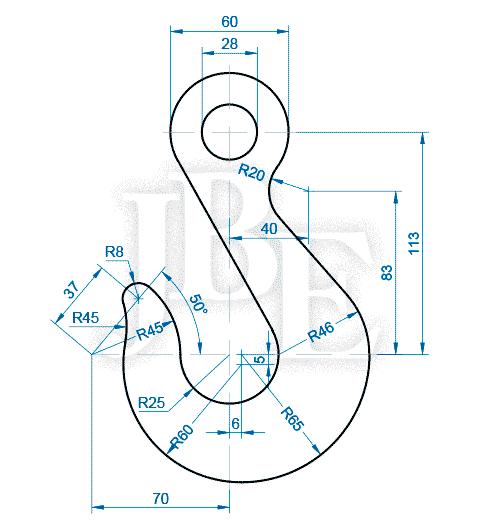 Un Blog Para Aprender Autocad Con Ejercicios Desarrollados Paso A Paso Y Ejercicios Propuestos Para Dibujos En Autocad Ejercicios De Dibujo Tecnicas De Dibujo