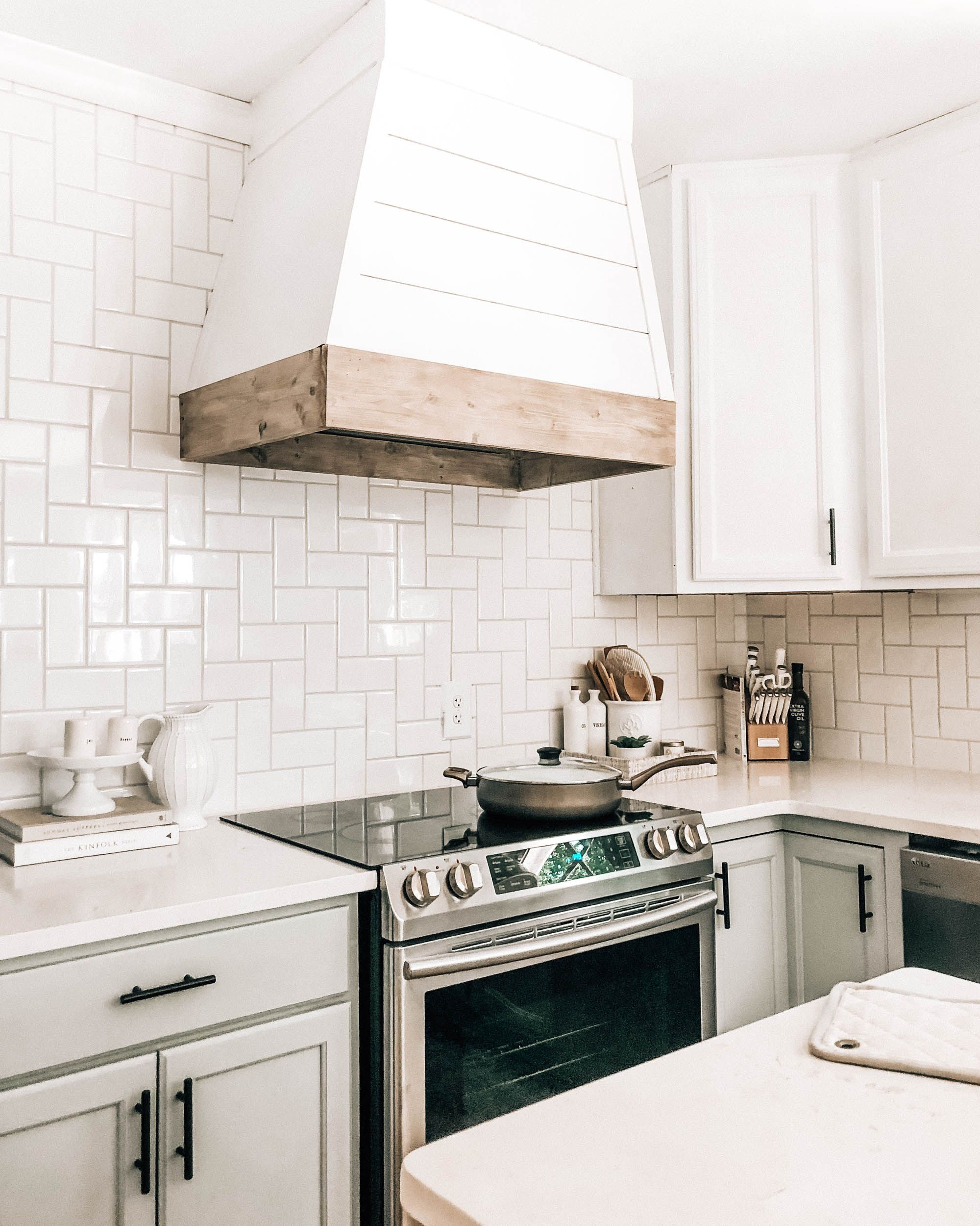 Painting Kitchen Cabinets Yourself How To Paint Subway Tile Kitchen Countertop Decor Sh Kitchen Countertop Decor Painting Kitchen Cabinets Kitchen Cabinets
