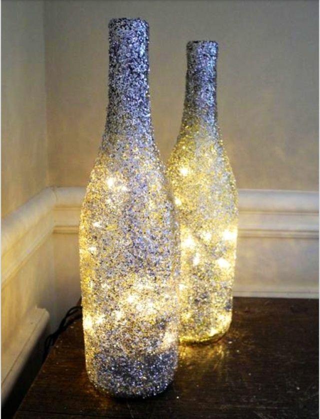 wine bottle lamps Wine bottle lamps