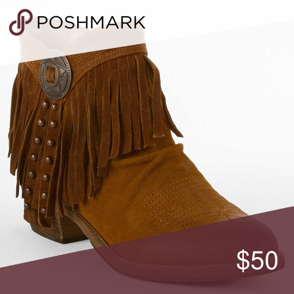 4308a5a6371f7 Sam Edelman Sidney Whiskey Suede Fringe Booties MORE PICTURES WILL BE ADDED  SOON Super cute western