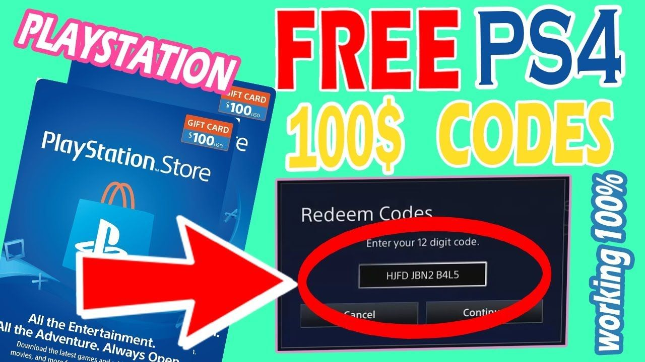 How To Get Free Psn Codes Free Ps4 Games Working Ps4 Gift Card Store Gift Cards Gift Card Generator