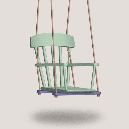 selber bauen ein schaukel stuhl spielzeug pinterest garten gardens and upcycling. Black Bedroom Furniture Sets. Home Design Ideas