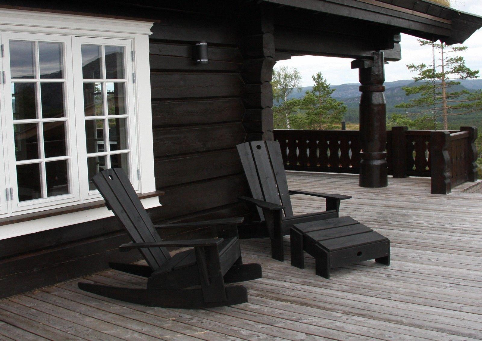 Hyggelig Hagemøbler/Utemøbler/Terrassemøbler/Hyttemøbler i eik heltre WU-63