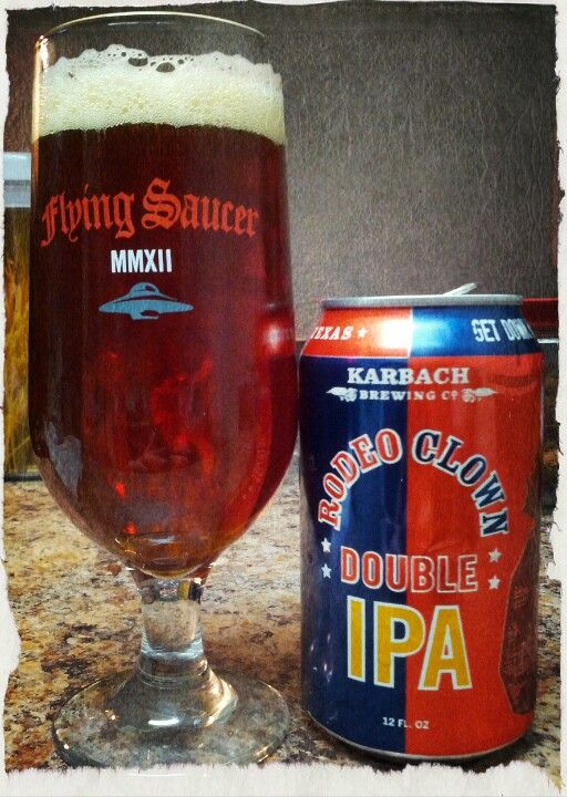 Karbach Brewing Co Rodeo Clown Double Ipa Craft Beer Beer Recipes Beer