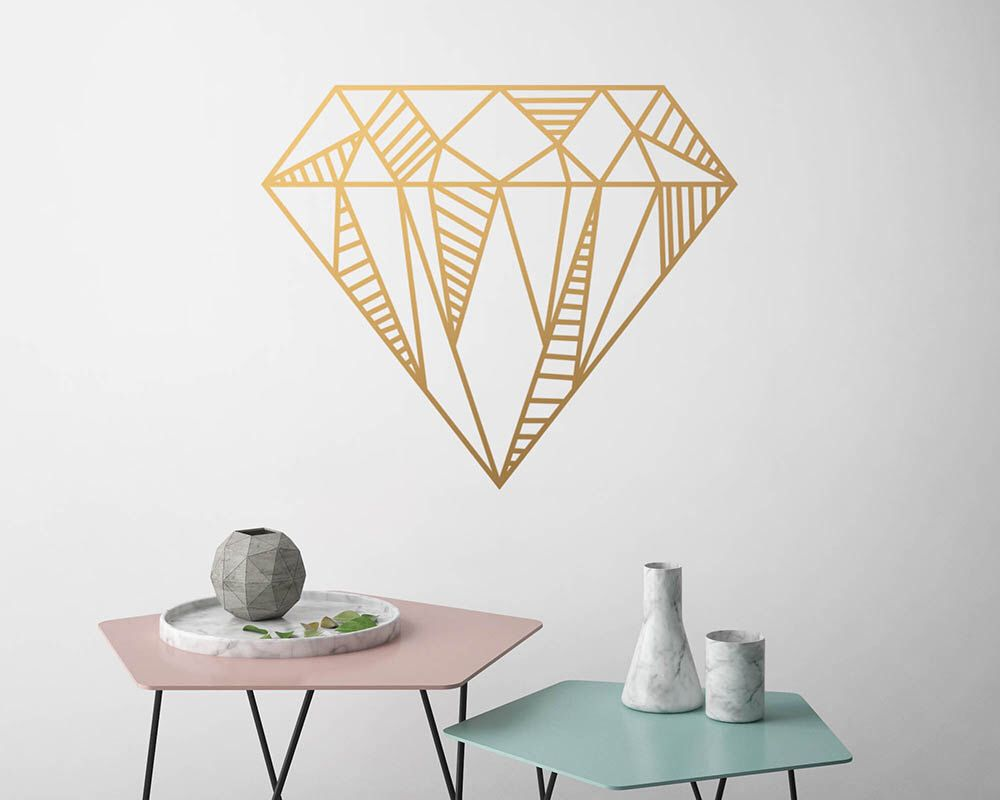 Diamond Vinyl Wall Decal