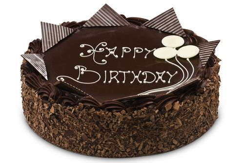 Pics For Beautiful Birthday Chocolate Cake With