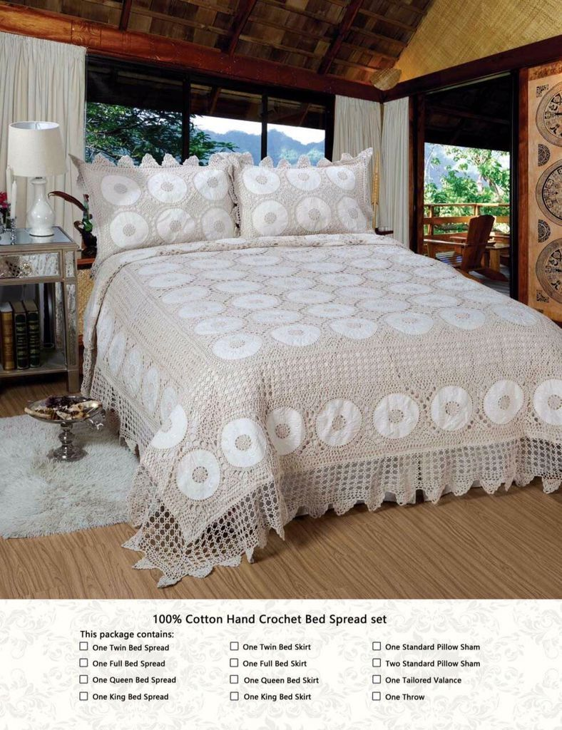 Find More Bedspread Information About Cotton Crochet Beige Color California King Home Bedcover Bedding Set Duvet Cover Pillowcase 3pcs