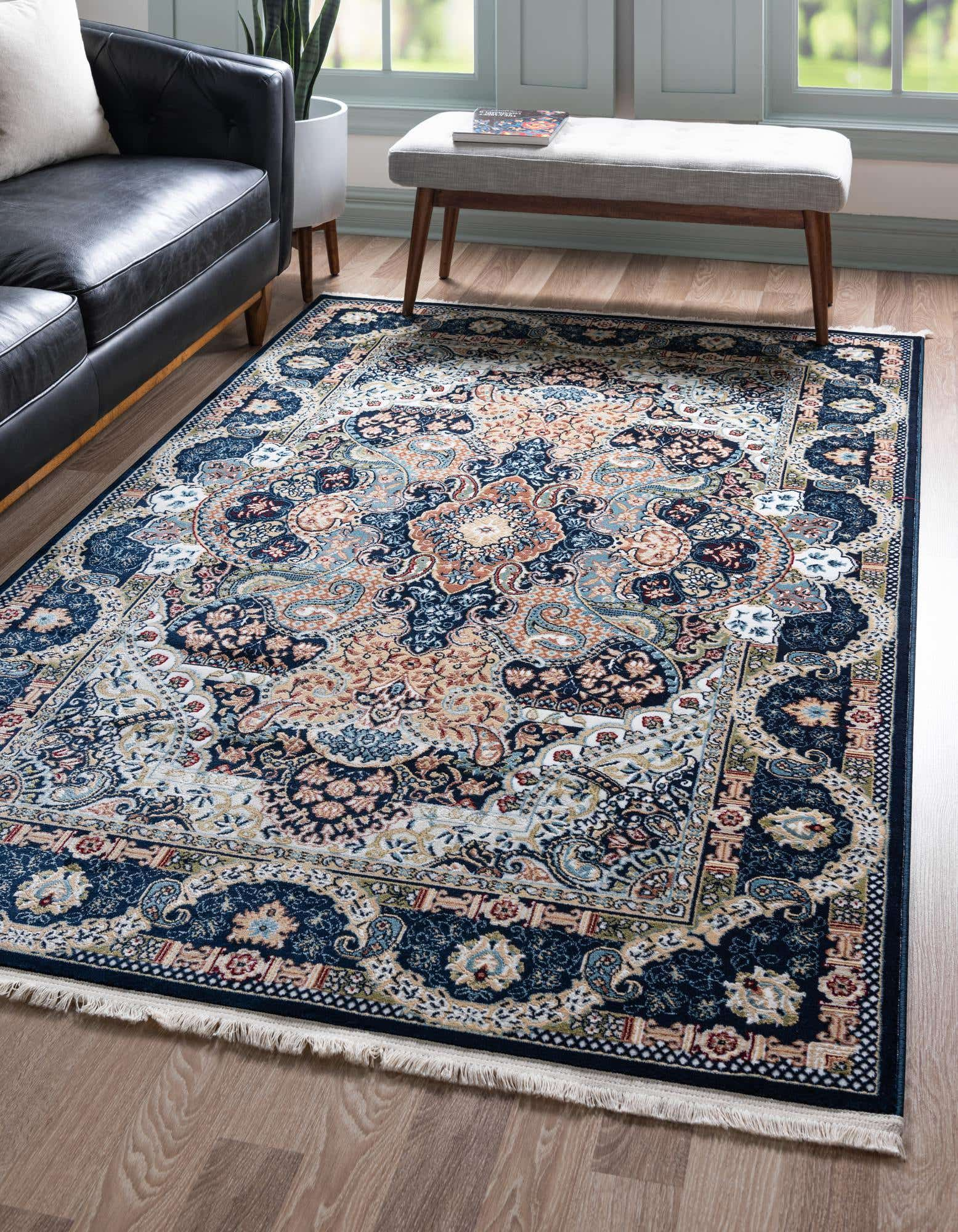 I Also Loved Their Blue 8x10 Rabia Area Rug 6271536 Rt Bbsiz