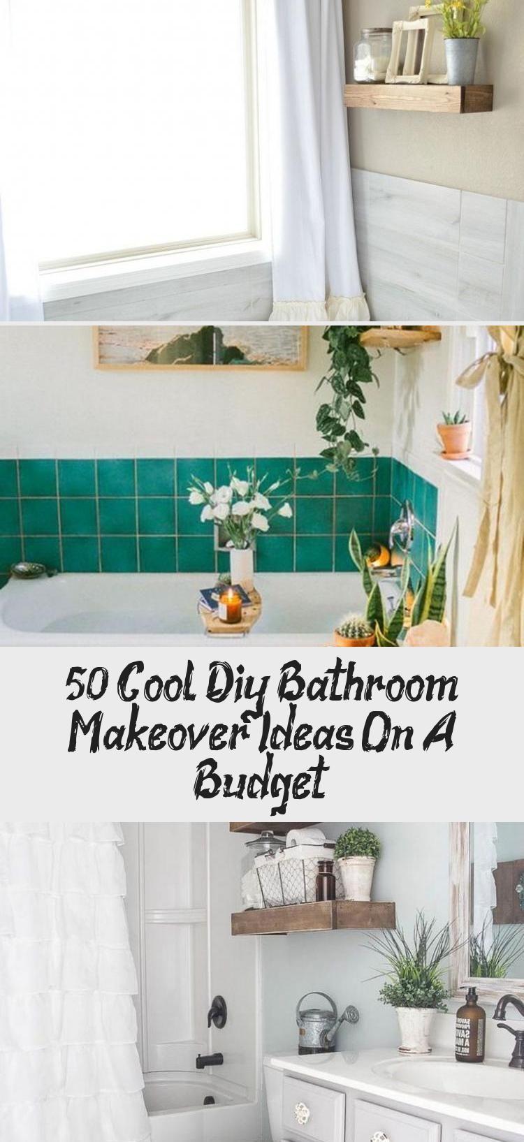50 Coole Diy Badezimmer Makeover Ideen Mit Kleinem Budget Badezimmer Bathroomrenovationfarmhouse Bat In 2020 Diy Bathroom Makeover Bathroom Makeover Diy Bathroom