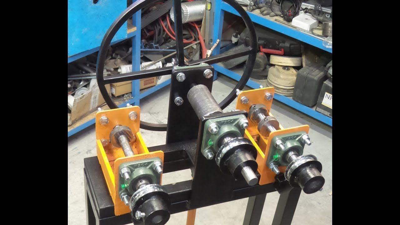 Curvatrice A Rulli Fai Da Te Homemade Roller Bender Diy Ultimate