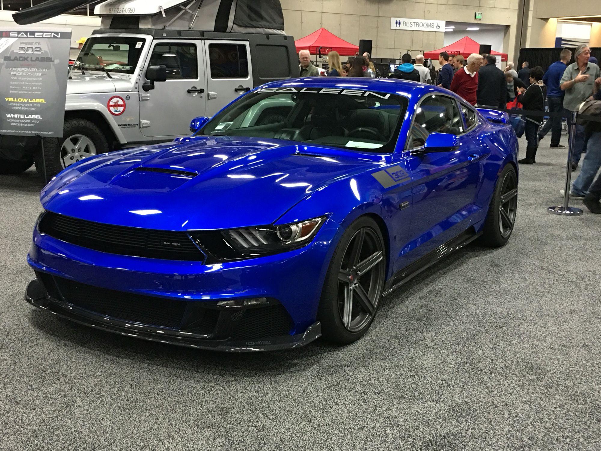 2016 Saleen Mustang >> 2016 Saleen International Auto Show San Diego Ca 1 1 16 Cars