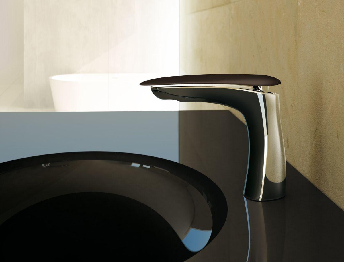 Piano Lavabo In Corian synergy di fir italia, la rubinetteria di design con