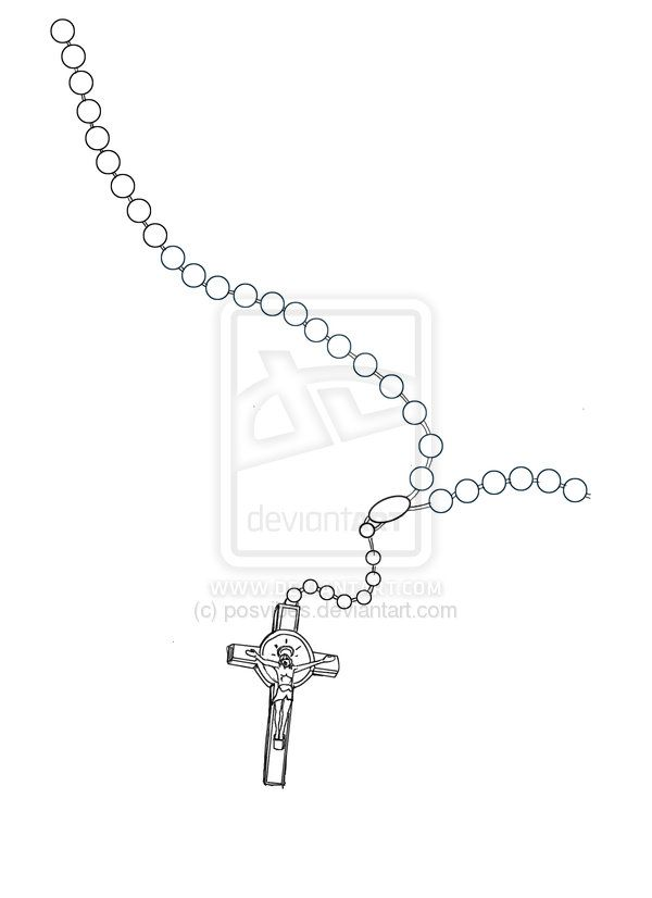 855bbdb061106 rosary+beads+by+posvibes.deviantart.com+on+@DeviantArt | Drawing for ...