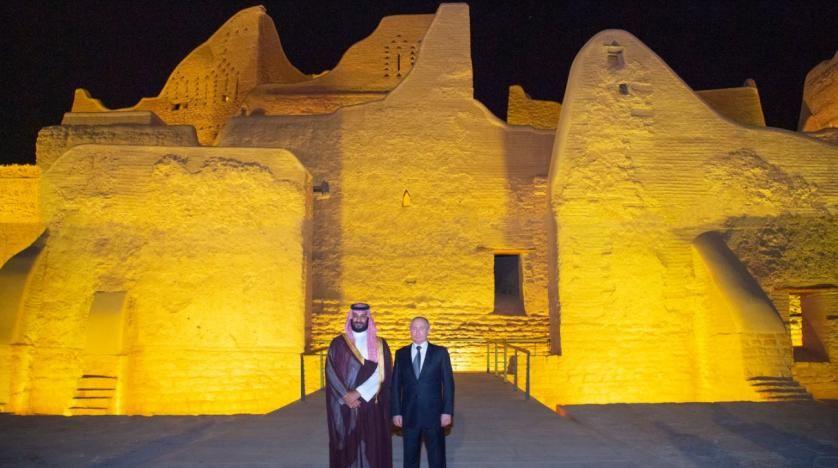 Saudi Crown Prince Putin Tour Historic Turaif District In Diriya Al Awsat World Heritage Sites World Heritage Historical