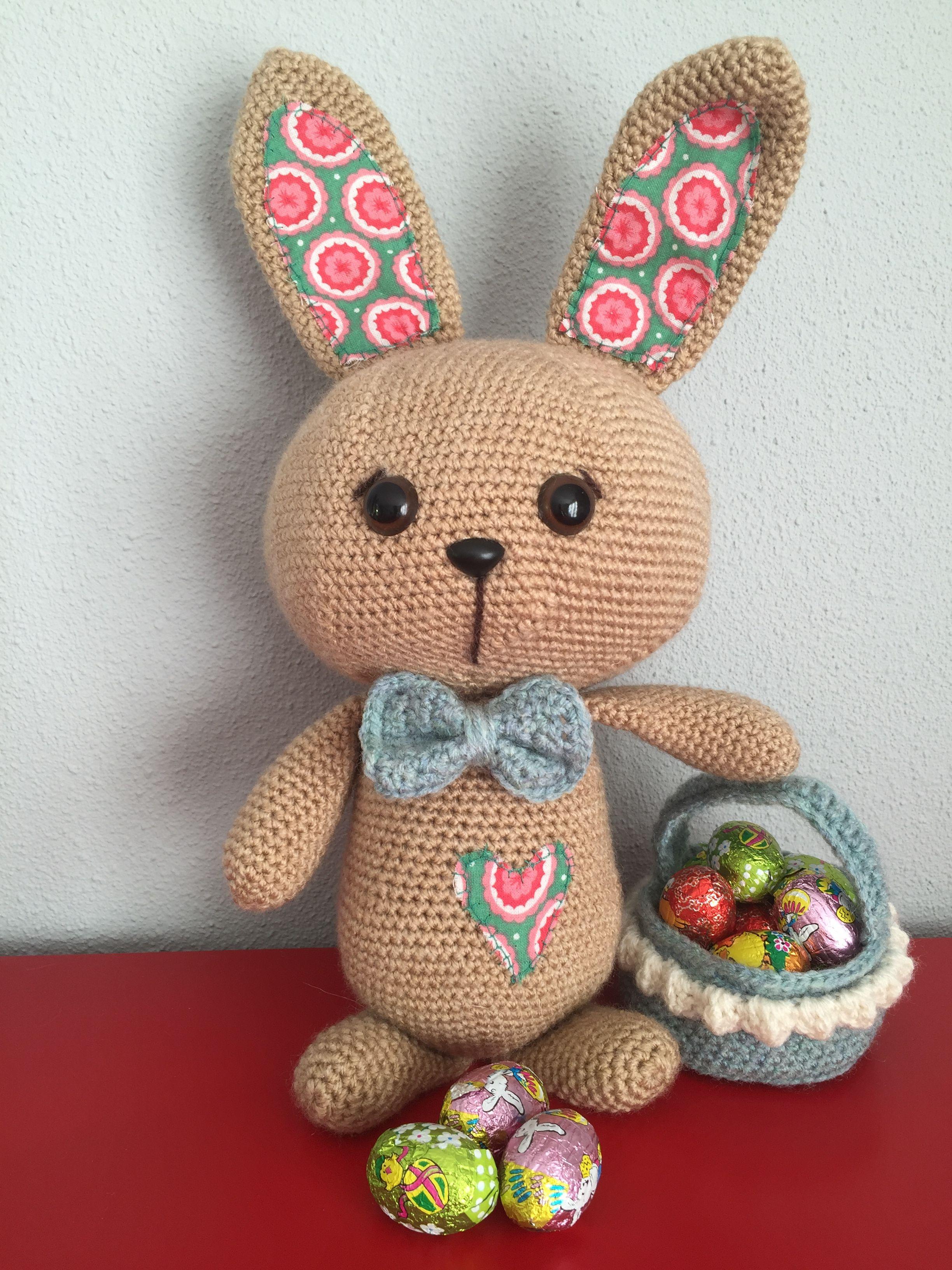 Patroon Gehaakte Paashaas Haak Je Mee Haken Pasen Crochet