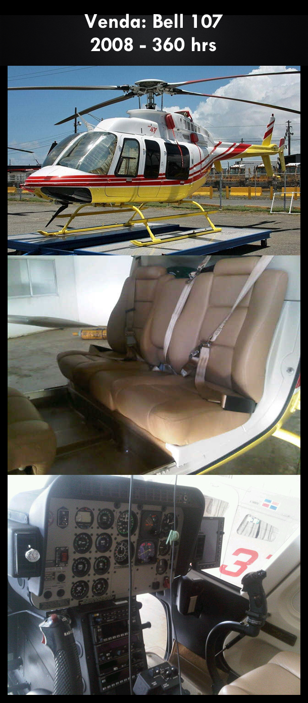 Aeronave à venda: Bell 407 , 2008, 360 hrs. #bell #bell407 #407 #airsoftanv #aircraftforsale #aeronaveavenda #pilot #piloto #helicoptero #aviation #aviacao #heli #helicopterforsale  www.airsoftaeronaves.com.br/H185