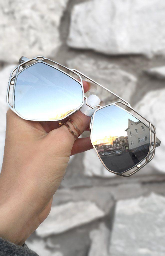 b98c9b37f Arrest Me Sunnies - Silver in 2019 | Glasses / Sunglasses ...