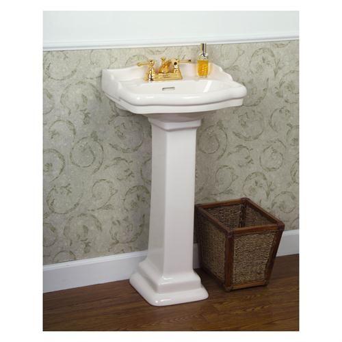 Small Pedestal Sink Stanford 153 460 Pedestal Lavatory By