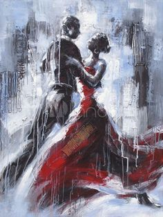 7c1e7d0ef3 Pinterest | Dancing Couple, Abstract Art For Sale and Romantic ...