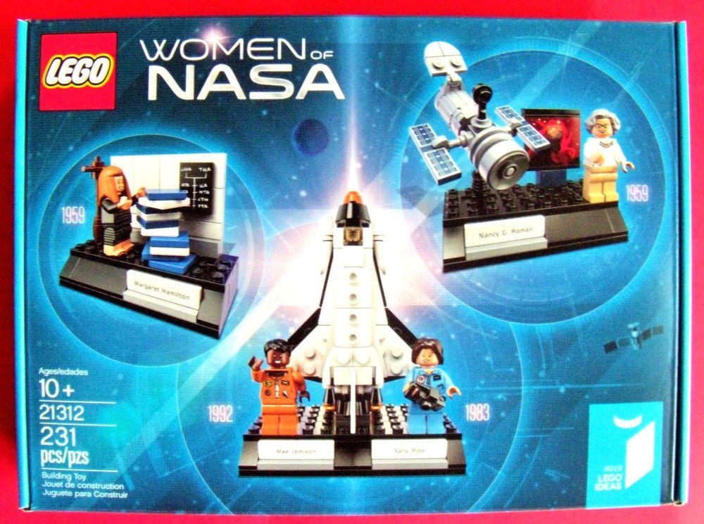 LEGO 21312 Ideas Women of NASA 231pcs New In Hand Free Shipping