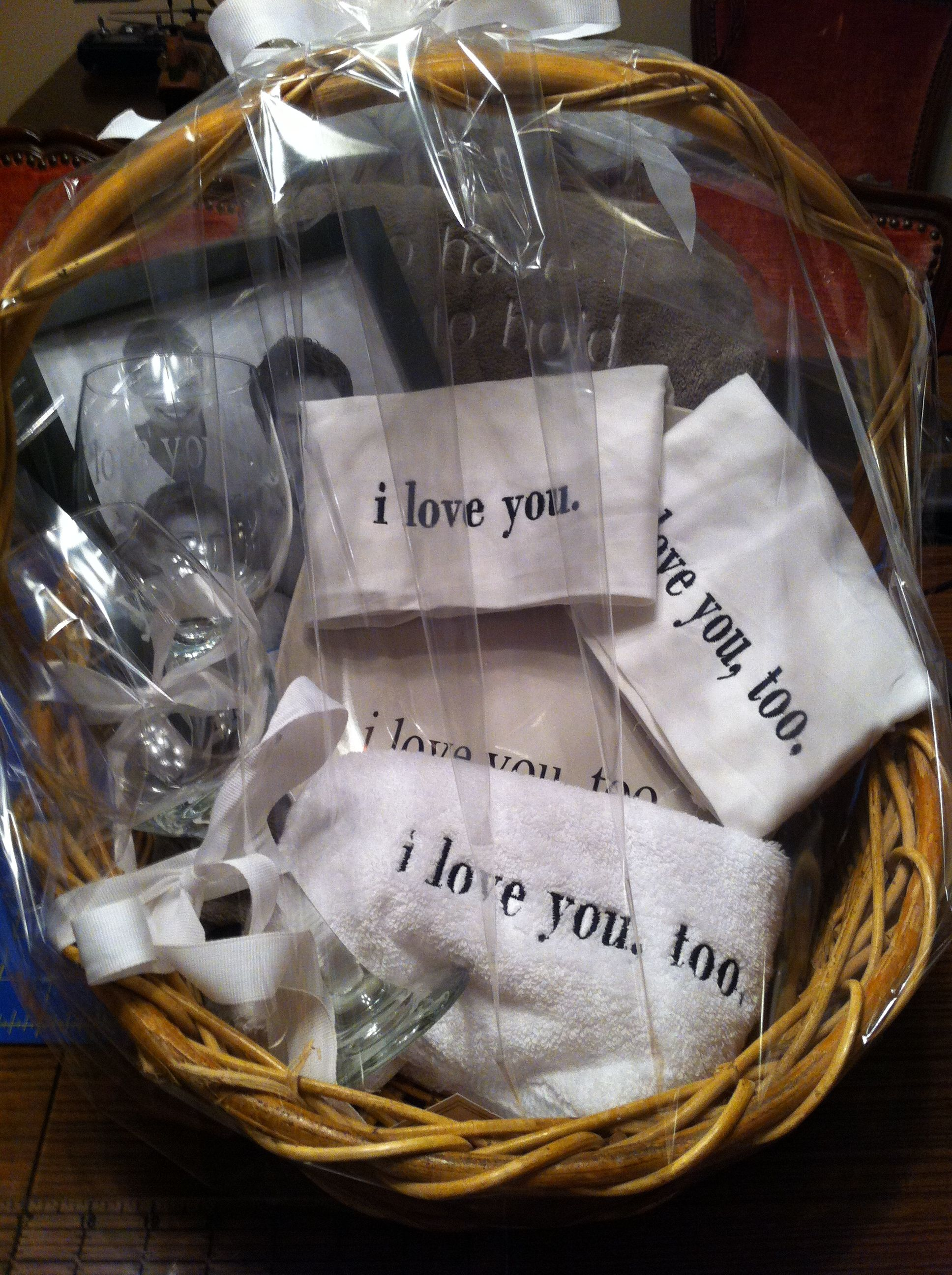 Marriage Retreat Basket