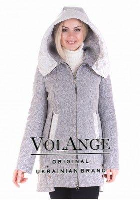 fdd47565e2f Демисезонное шерстяное пальто VOL ange Грейс