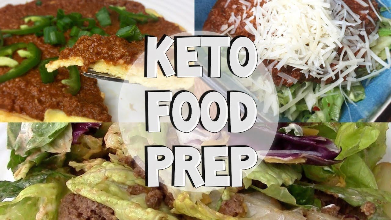 Easy keto food prep ground beef 3 ways youtube keto