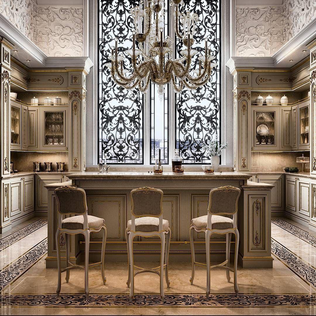 گالری سی تی اس كلكسیونی از پارچه و مبلمان ایتالیایی. آشپزخانه طلایی ...