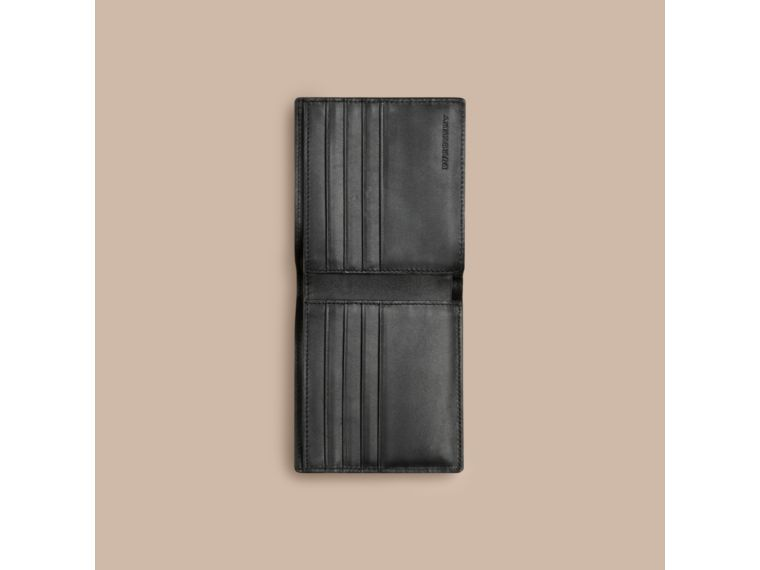 BURBERRY LONDON CHECK FOLDING WALLET. #burberry #bags #polyester #leather #lining #accessories #wallet #pvc #