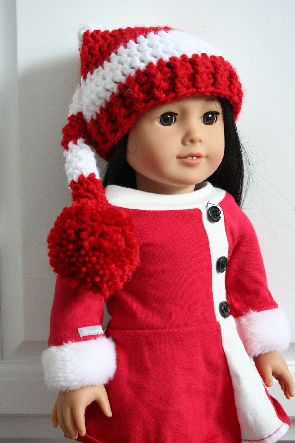 Christmas Elf Hat for American Girl dolls #americangirl #elfhat ...
