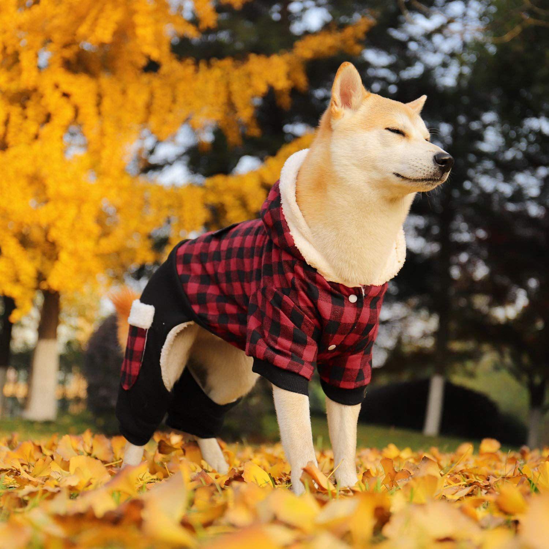 Pin on PAWZ Road Dog Plaid Coat Pet Winter Clothes