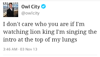 Can we just appreciate that he tweeted this at 3:46 am.
