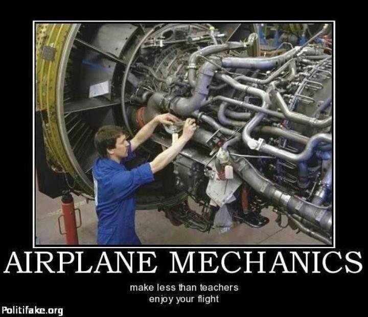 airplane mechanics