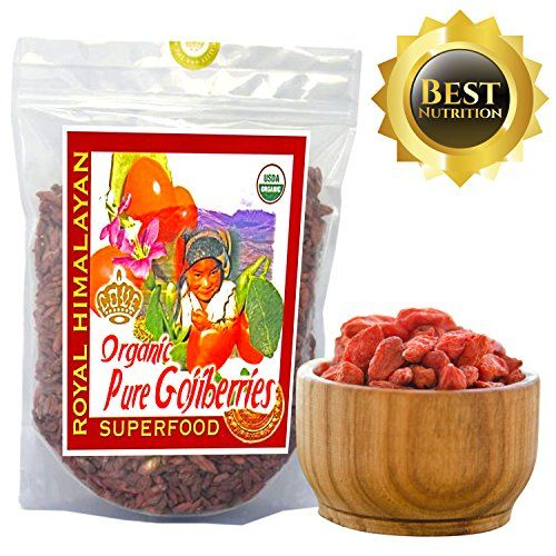Top Nutrition  2Lb  32oz Royal Himalayan Raw Goji Berries  Certified Organic  Smoothies Snacks Salads Trail Mixes * Check out this great product.